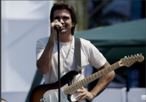 Colombia's singer Juanes rehearses