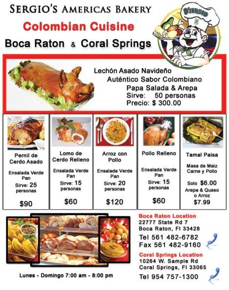 Sergios Americas Bakery - Boca Raton & Coral Springs Florida