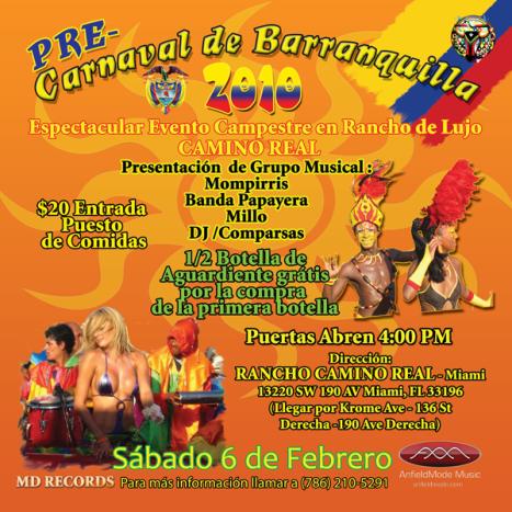 Pre Carnaval de Barranquilla - Miami