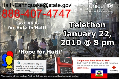 Hope for Haiti Telethon