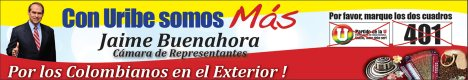 Jaime Buenahora con Uribe somos Mas