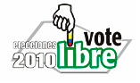 Vote Libre Elecciones 2010