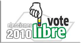 Elecciones 2010 Vote Libre