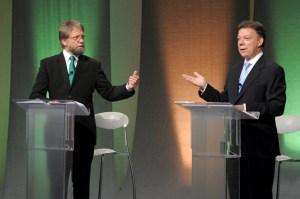 Último debate Junio 17 de 2010 - Antanas Mockus vs Juan Manuel Santos