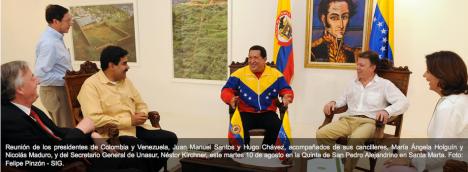 Dentro de la reunión - Foto Felipe Pinzón - Presidencia SIG