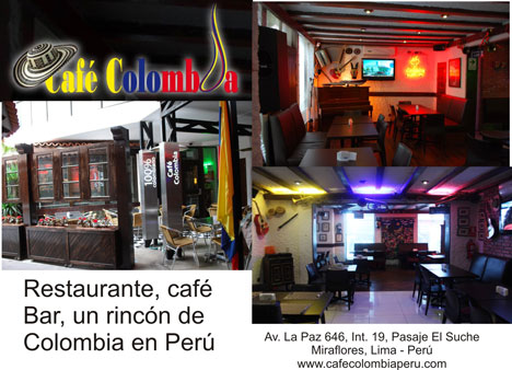 Cafe Colombia Peru