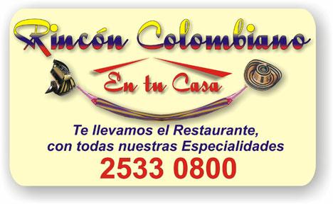 Rincon Colombiano en tu casa - El Salvador San Salvador Centro America