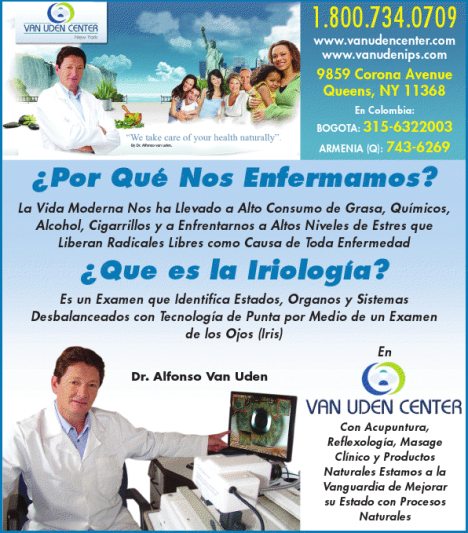 Van Uden Center 800 734-0709