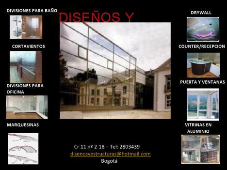 Diseños y Estructuras - Bogota Colombia