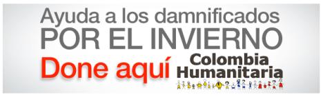 Donaciones en Linea Colombia Humanitaria Cuenta Corriente Davivienda #021-995238