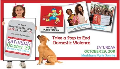 Women in Distress SafeWalk-Run 2011