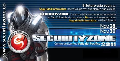Security Zone - I Congreso Internacional en Seguridad Informatica Cali Colombia