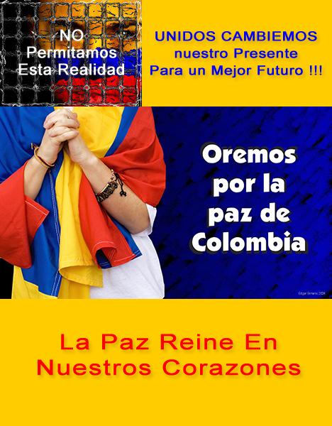 Redes Colombia invita a Colombia a reflexionar el 31 de Diciembre de 2011 - Imagen parcial de Edgar Serrano 2008