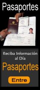 Registrese para pedir y recibir noticias sobre Pasaportes de Colombia