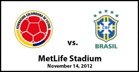 Colombia vs. Brazil International Friendly MetLife Stadium | 7:30pm