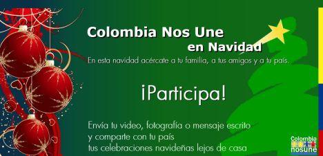 Celebra la navidad con las Embajadas y Consulados de Colombia