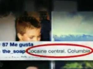 """El hijo de Madonna se refirió a Medellín como el \""""Centro de la cocaína\"""".Foto: Instagram"""