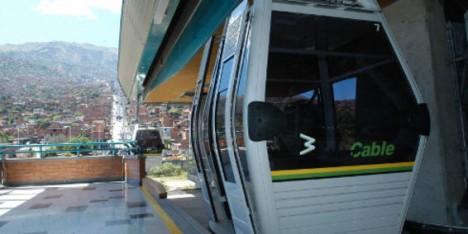 El Metrocable, de Medellín, uno de los puntos que tuvo en cuenta el jurado.Foto: Archivo / EL TIEMPO