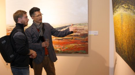 Exposición de Arte Colombiano en la Capital China