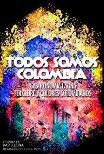 21 de Julio en Barcelona ~ Independencia de Colombia