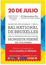 20 de Julio en Bruselas ~ Independencia de Colombia