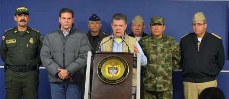 Presidente exigió liberar a personas secuestradas en el Chocó. Foto: Javier Casella - SIG
