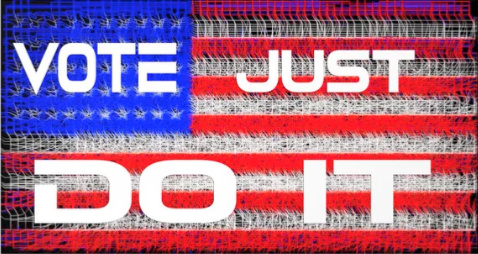 Vote Just Do It by Rafael Salazar